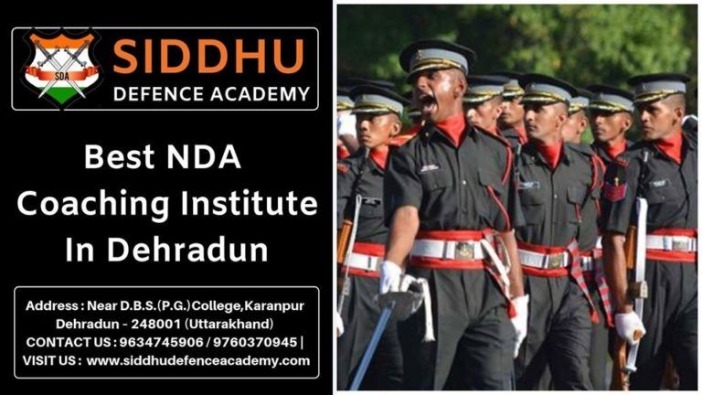 Best NDA Institute in Dehradun